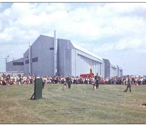 379 CDS K-9 Demo Armed Forces Day 1962