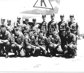 The Giant Strike X air crew and maintenance team.