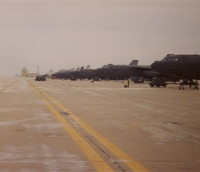Mighty Force 88-4 Exercise – Clinton – Sherman, OK Burns Flat, 7 Bombers  (30 Jan – 5 Feb '88)