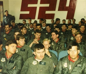524th Bomb Squadron Briefing
