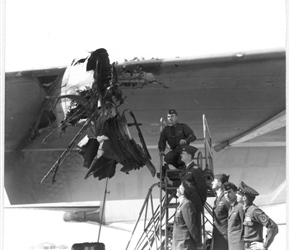Crew E-22 Assesses The Damage