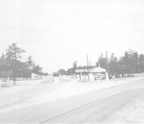 Wurtsmith Air Force Base Main Gate  (1953)
