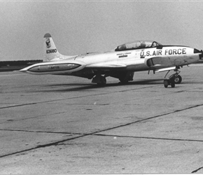 T-33 and F-106 stationed at Wurtsmith AFB, MI