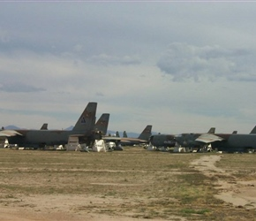 More B-52Gs waiting for the final solution… spare parts or the guillotine!