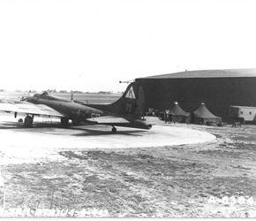 "B-17F-95-BO is possibly ""BUSY BABY"""